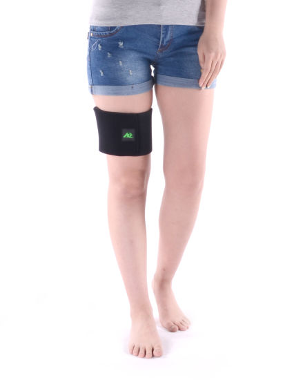 3d072d6d49 High Elastic Knee Brace Velcro Knee Padding Protector Support. Get Latest  Price