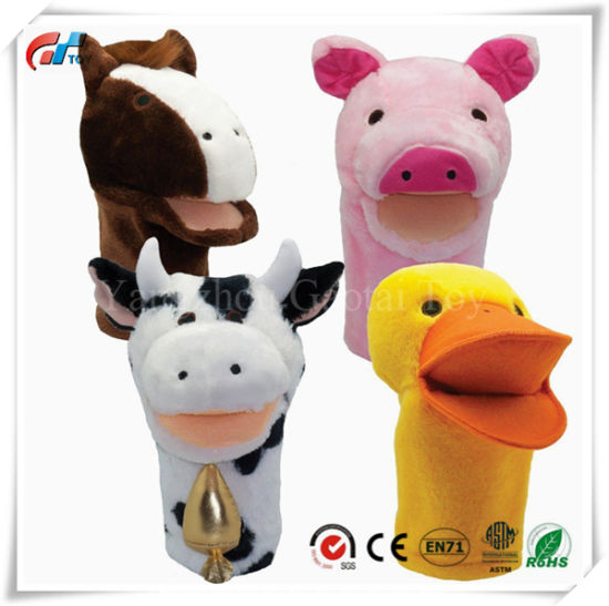 China Bigmouth Farm Animals Toy Puppet Set - China