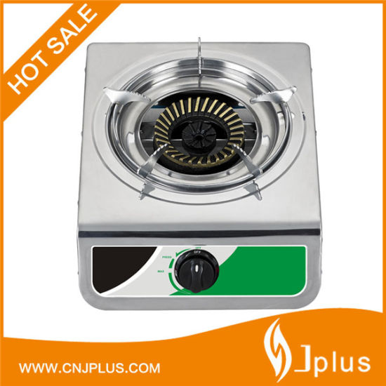 Popular Style Steel Panel Single Burner Gas Cooker in Bangladesh Jp-Gc105