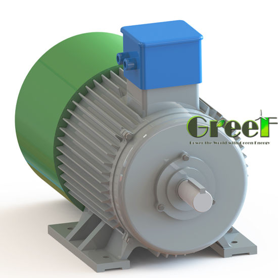 10kw 100kw 1000kw Brushless High Efficiency Low Rpm Permanent Magnet Motor