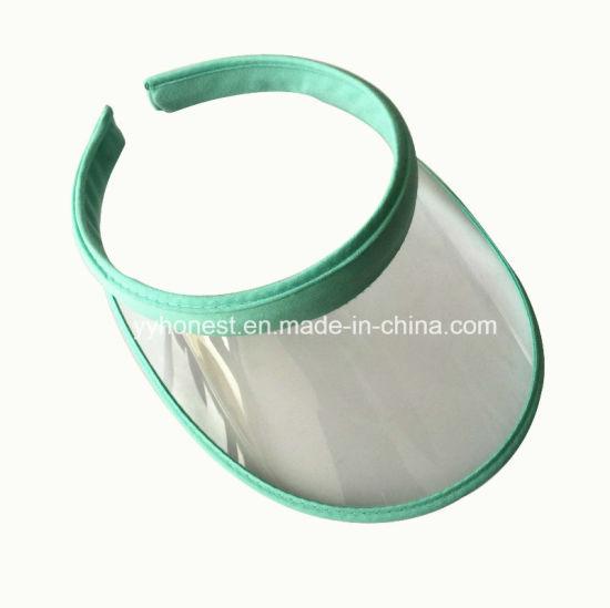 China Promotional Plastic Visor Cap Custom Plastic Sun Visor - China ... 34d53a9e6426
