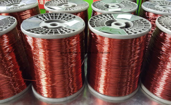 Best Quality Electric Enameled Copper Clad Aluminum Wire for Cable pictures & photos