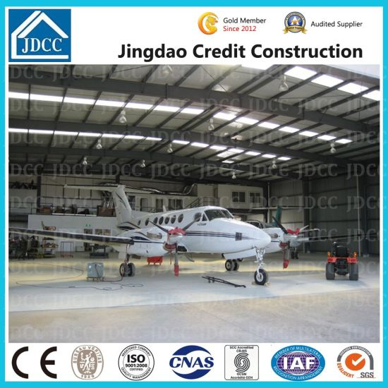High Quality Galvanization Prefabricated Light Steel Structure Shed Aircraft Hangar pictures & photos
