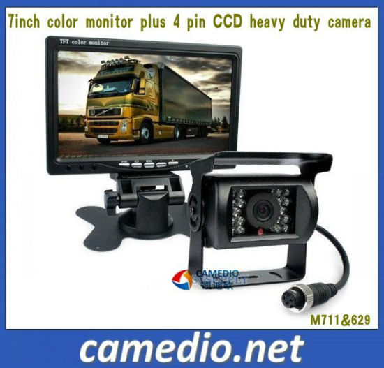 7inch Heavy Duty 24V CCD Bus/Truck Rear View Camera System Kit pictures & photos
