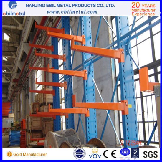 Warehouse Rack Q235B Steel Cantilever Racking pictures & photos