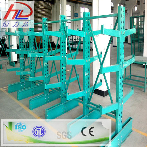 Heavy Duty Selective Double Cantilever Racking System pictures & photos