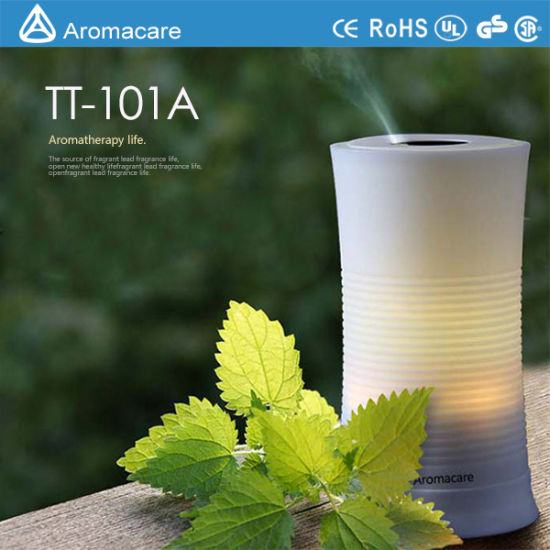 Aromacare Colorful LED 100ml Battery Operated Mini Humidifier (TT-101A) pictures & photos
