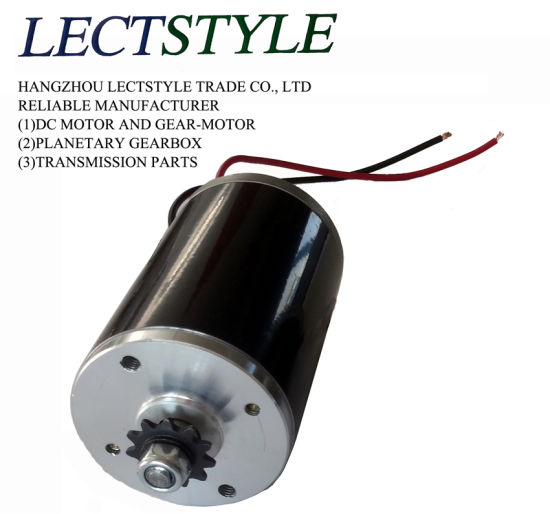 50W 12V 0.31n. M DC Generator and Permanent Magnetic DC Motor