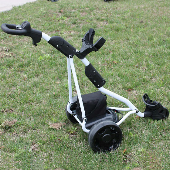 CE Certification 3 Wheel Electric Push Golf Trolley with Push Handle (DG12150-B)