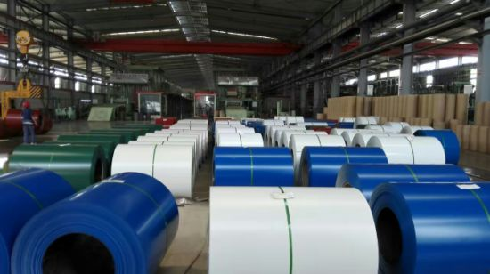 Color Coated Steel Coils Ss400 Q195 Q235 pictures & photos
