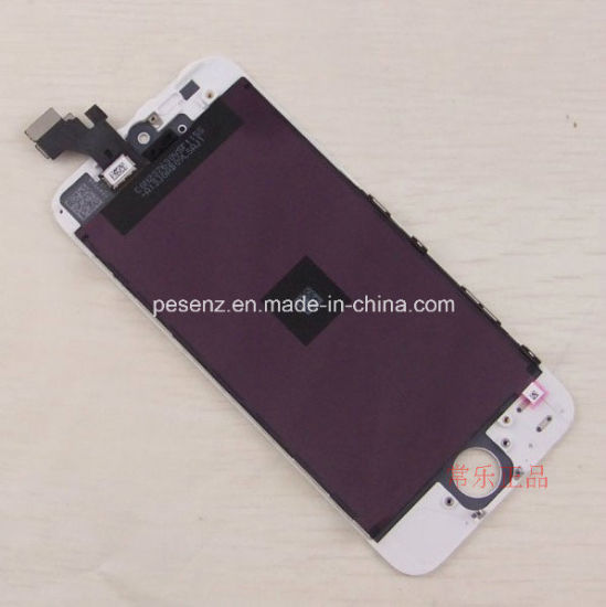 Mobile/Cell Phone LCD Touch Screen for iPhone 5 Screen Complete pictures & photos