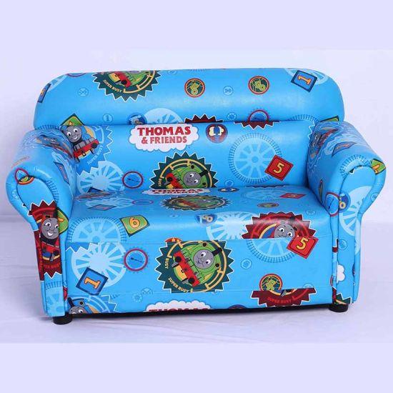 Children Double Leather Sofa (SXBB-48-10)
