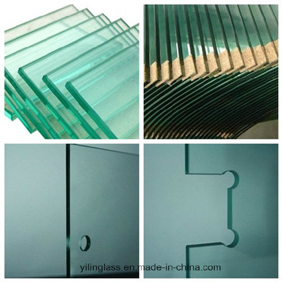 Notched Glass Panel For Inside Outside Door
