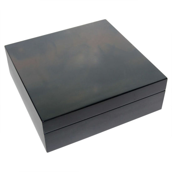 Dark Green Matte Storage Wooden Box