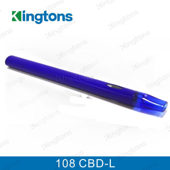 Kingtons New Arrival E Cigarette 108 Cbd-L Cbd Vaproizer Hot Selling in USA pictures & photos