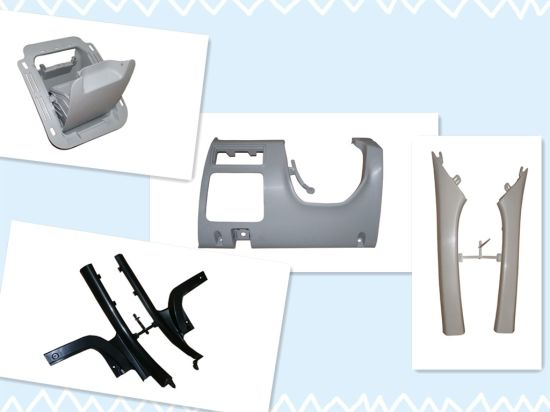 Injection Mould for Automobile Collecting Cover, Auto Plastic Mould, Plastic Mould pictures & photos