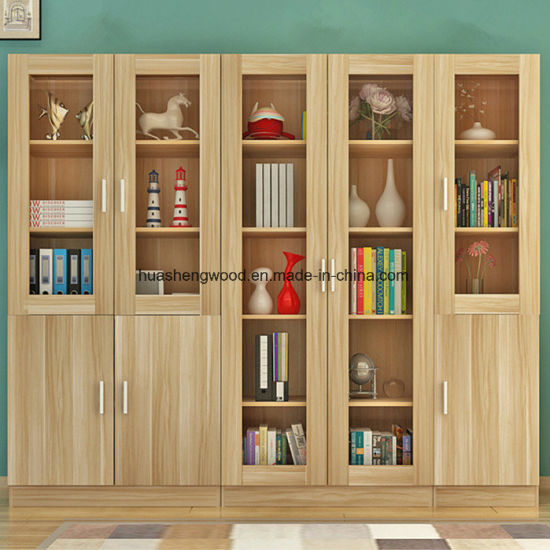 Panel Wood Office Furniture Bookcases Wardrobe Filing Cabinet