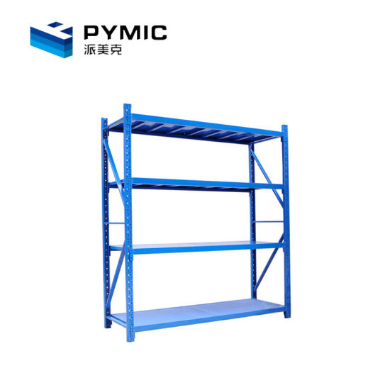 Durable Multi Tier Long Span Warehouse Slotted Angle Rack pictures & photos