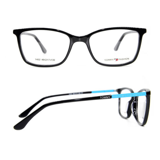 Latest Colorful Model Design Eyewear Frames Acetate Teenagers Eyeglass Optical Frame