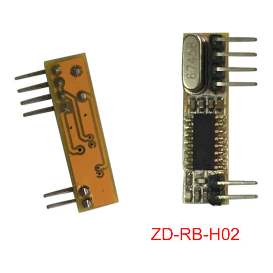 Superheterodyne 433MHz RF Receiver Module for Automation Device pictures & photos