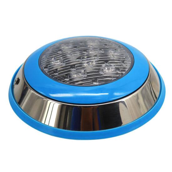 Stainless Steel 6W 9W 12W 18W RGB Remote LED Underwater Pool Light