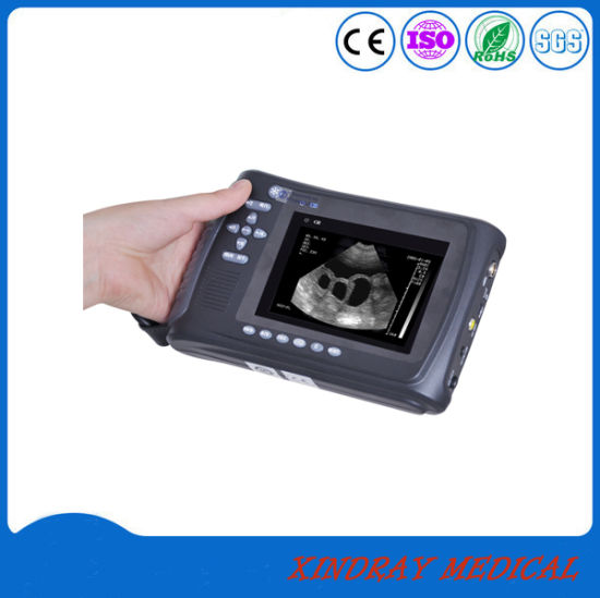 Hot Sell Veterinary/Animal Use B/W Ultrasound Machine Scanner pictures & photos