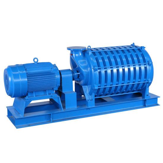 Sewage Backwash Multistage Centrifugal Blower with Aluminum Impeller, Pressure 80kpa