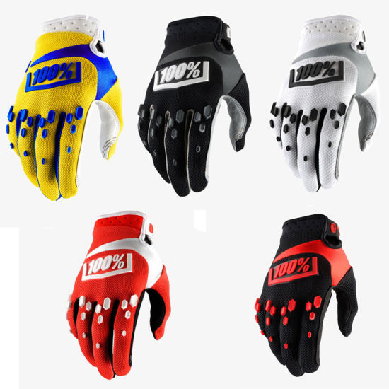 Motorcycle Cross-Country Gloves All-Fingered Outdoor Sports Gloves Long-Fingered Cycling Gloves