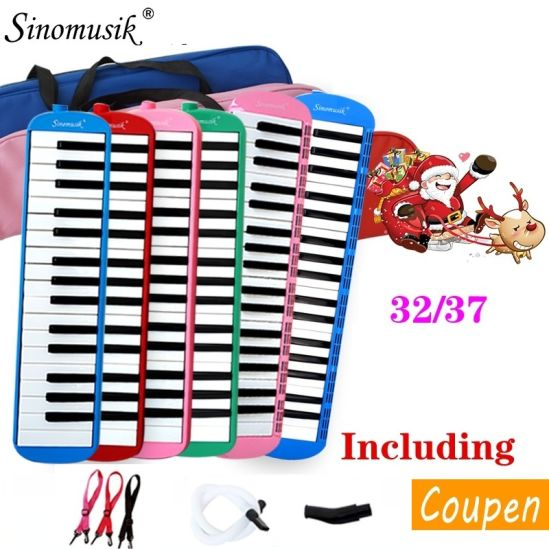 Wholesale Melodion 32/37 Keys Melodica Pianica for Student pictures & photos