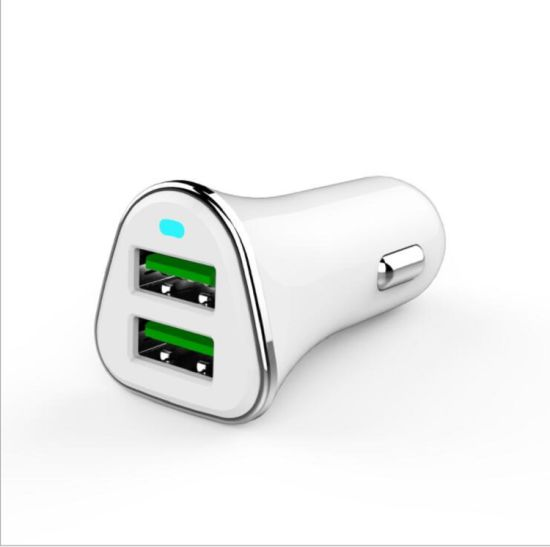2 USB Car Charger pictures & photos