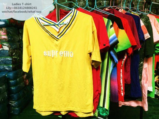 Used Clothing Ladies T-Shirts