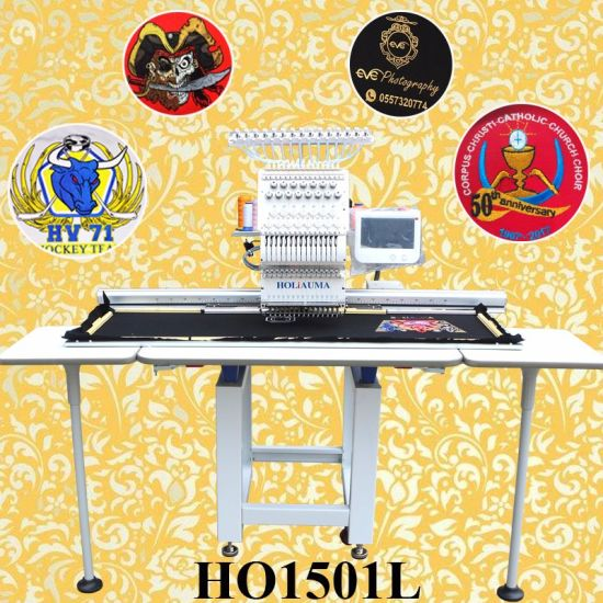 360*1200mm Large Area Embroidery Machine Holiauma Top Selling Computer Embroidery Machine Like Barudan Embroidery Machine