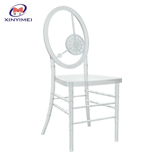 Party Furniture Stacking Design Clear Plastic Event Chair