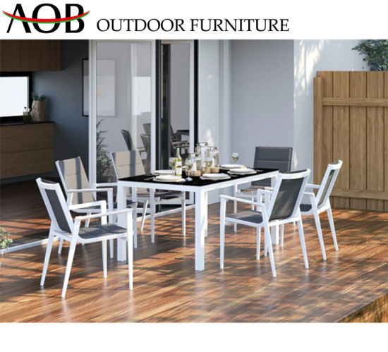 Wondrous China Contemporary Outdoor Furniture Aluminum Patio Dining Theyellowbook Wood Chair Design Ideas Theyellowbookinfo