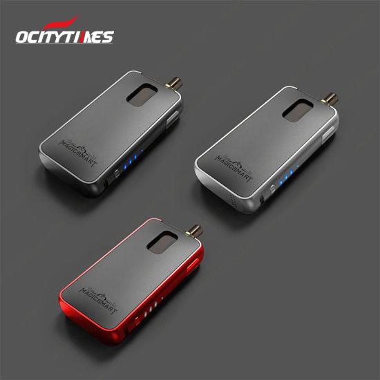 New Nicotine Salt Model Ocitytimes Rechargeable Magicsmart 2.0ml Box Mod