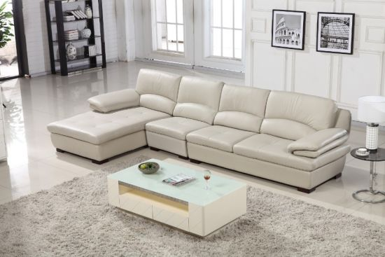 High Quality Modern Leather Sofa for Home