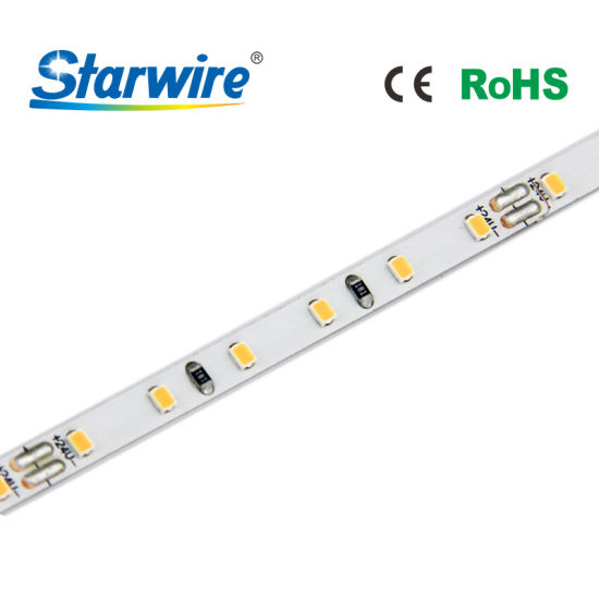 5m 24V Linear LED Flexible Ultra Thin 5mm Width Mini High CRI SMD 2216 LED Strip Light for Kitchen Cabinet pictures & photos