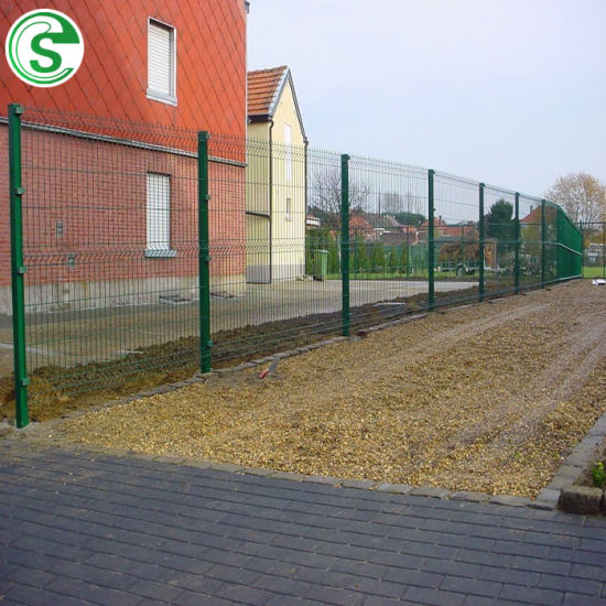 Popular Nylofor 3D Bending Wire Mesh Fence for Garden/Factory
