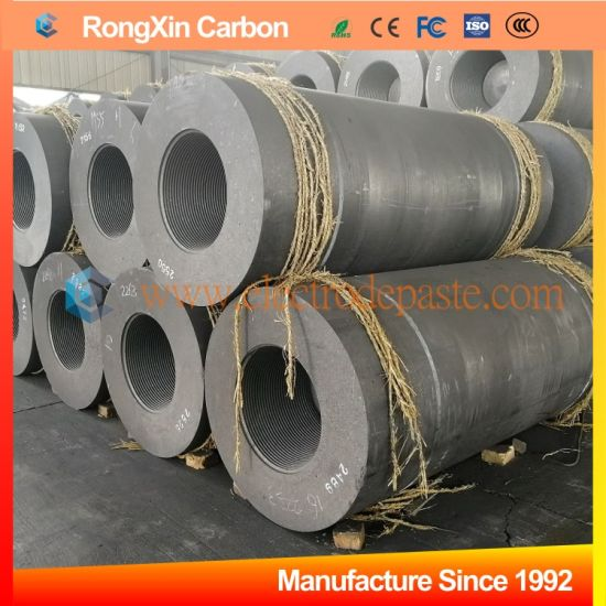 China Supply Steel Casting Uhp Extruded Carbon Graphite Electrode