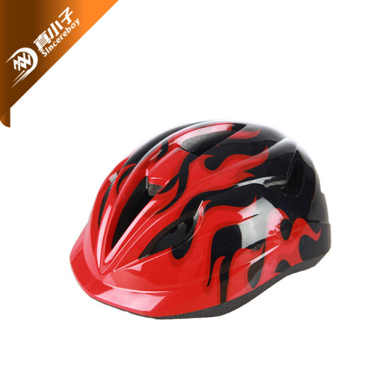 Children Kids Skating Cycling Helmet Bike Bicycle Racing Skating Cartoon Helmet Factory