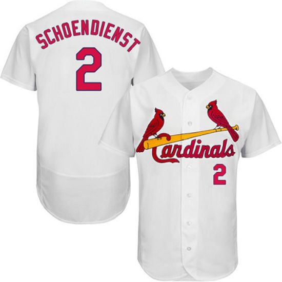 competitive price 7b1c2 76725 St. Louis Cardinals Red Schoendienst Cool Base Baseball Jersey