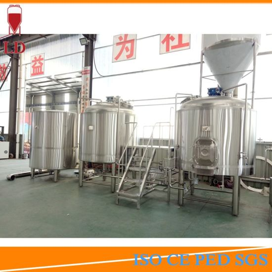 Steam Jacket Beer Making Brewery Machinery 15bbl Micro Brewing Equipment