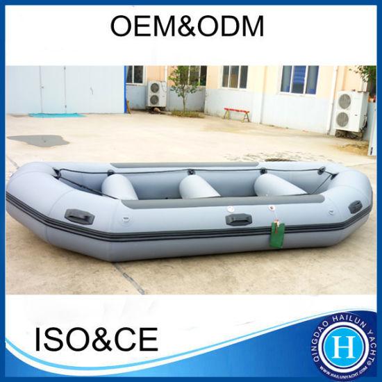Fishing Boat Raft Boat White Raft Boat Sport Boat White Water Raft Boat Airmat Boat, Inflatable PVC Raft Speed Boat