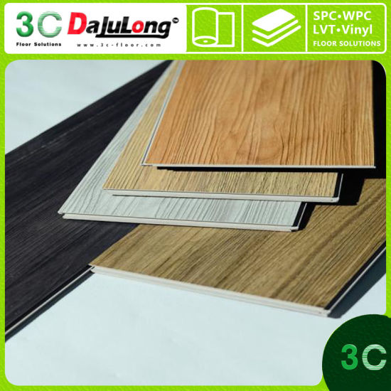 High Grade Commercial 6 0mm Click Luxury Vinyl Plank Household Flooring In China