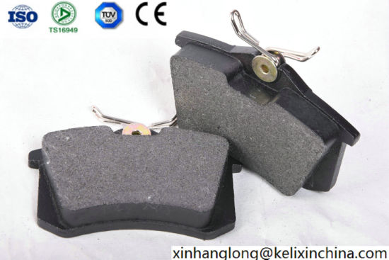 High Quality Auto Car Parts Low-Metal, Semi-Metal, Ceramic Disc Brake Pad for Toyota D340