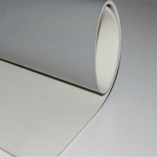 PVC Roll Flooring Vinyl Sports Plastic Flooring Badminton Court Manufacturer