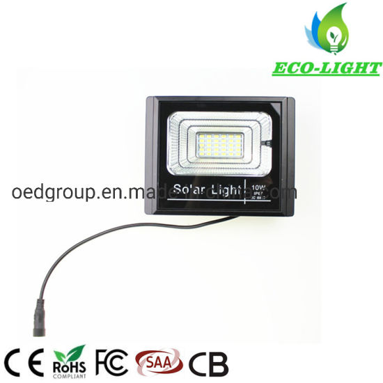 IP67 10W Solar System LED SMD Garden Solar Flood Light