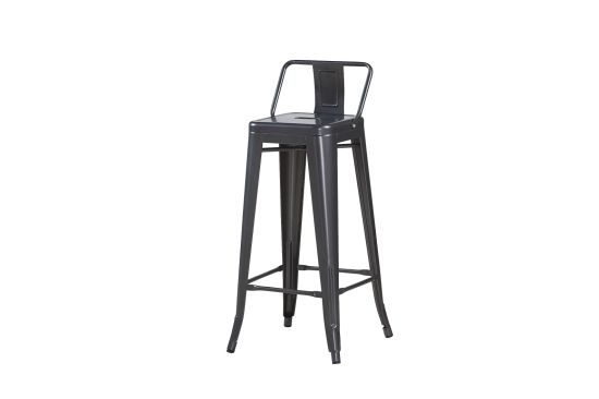 Outstanding China Stackable Metal High Back Chair Bar Stool Chair For Machost Co Dining Chair Design Ideas Machostcouk