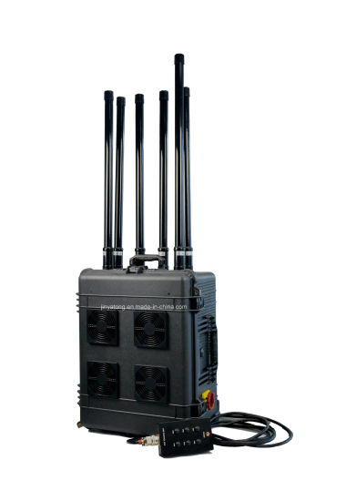 High Power Suitcase Blocking WiFi GPS Signals up to 500m Cell Phone Jammer pictures & photos