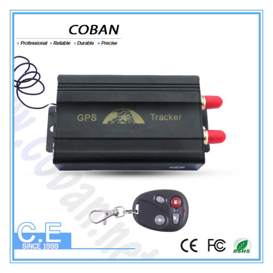 China Anti-Theft High Sensitivity GPS Tracker for Car Used Tk103A